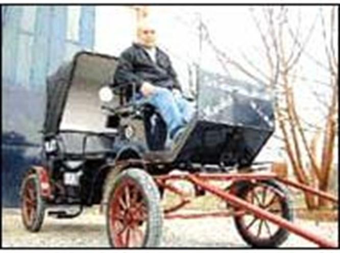 Faytoncunun Mercedes'i